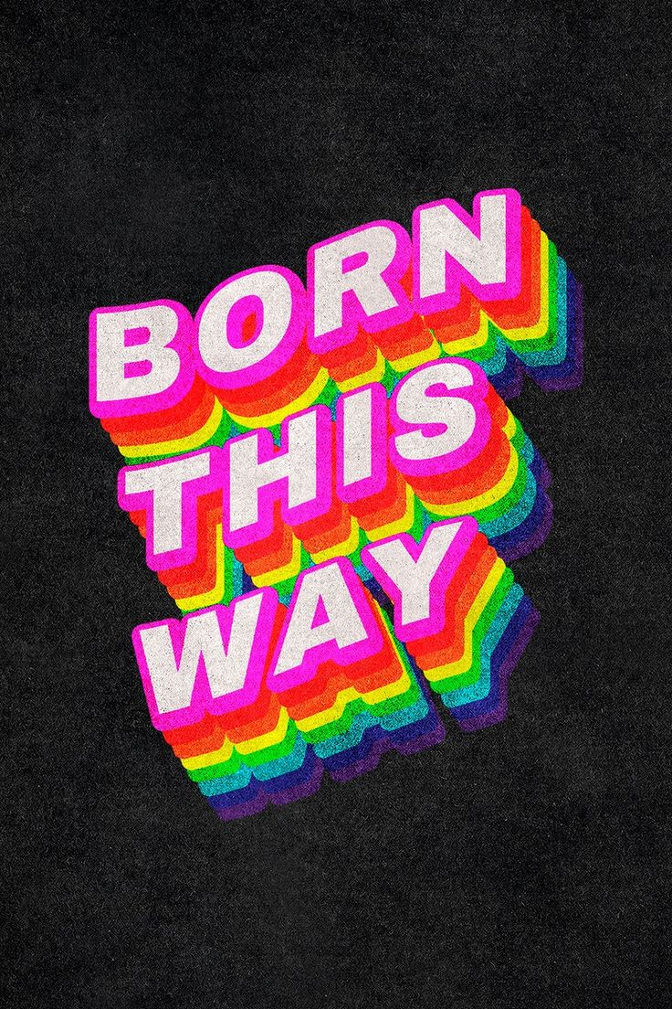 Aesthetic Space, Rainbow Aesthetic, Neon Aesthetic, Vintage Typography, Typography Quotes, Rainbow Words, Rainbow Pride, Pride Tattoo, Lady Gaga Photos