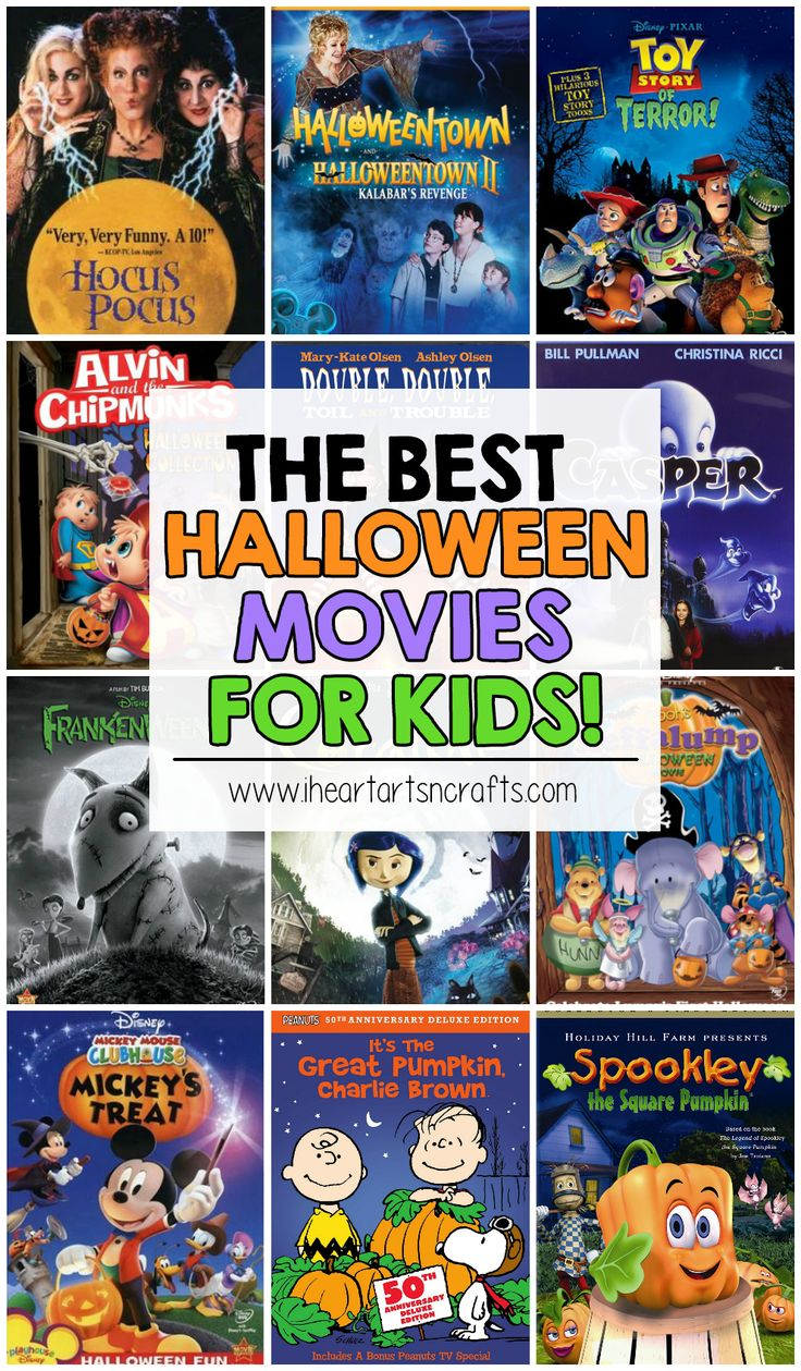 the best halloween movies for kids - Halloween Movies Rated Pg