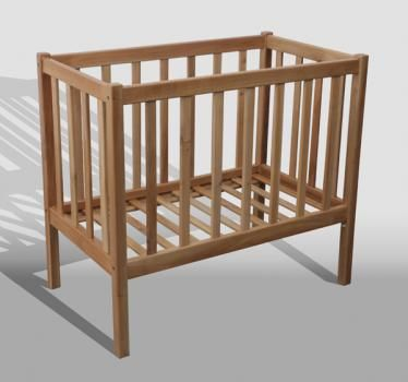 Wisanka Loose Collections. Wooden Baby Crib. Made from solid Wood. Available material Mahogany, Mindi, and Teak.Detail of Fancy Baby Crib | Indonesia Contemporary Furniture