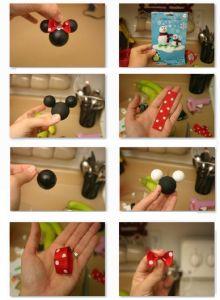Cómo hacer a Minnie Mouse - Manualidades con fieltro, moldes y patrones gratis