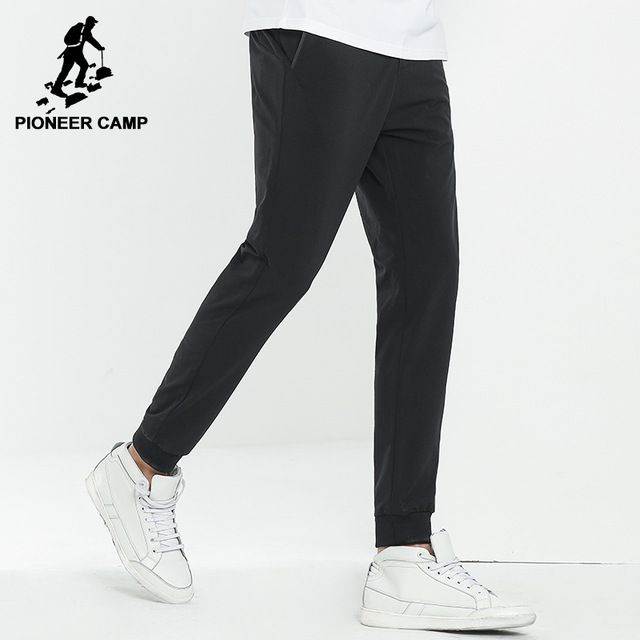 Special offer Pioneer Camp New arrival solid joggers men brand clothing fashion pencil pants men top quality stretch trousers male AXX703121 just only $20.39 with free shipping worldwide  #pantsformen Plese click on picture to see our special price for you