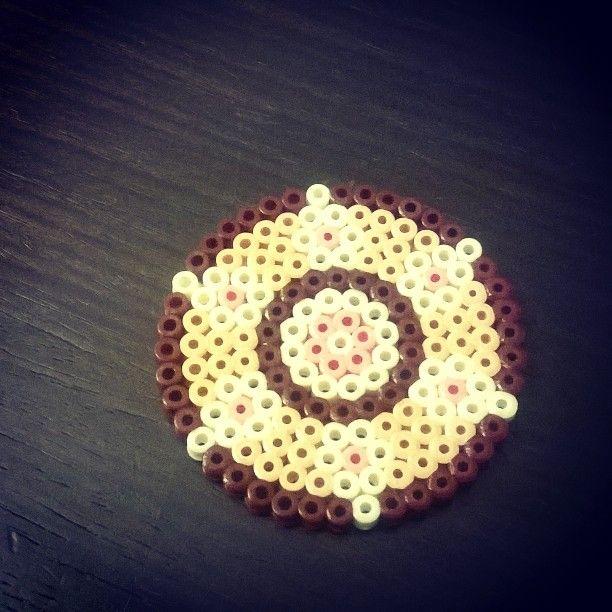 #handmade #coaster #diy #hama_beads #creative