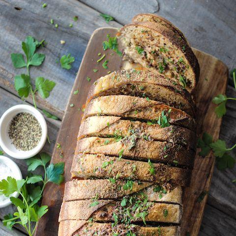 Biltong & Herb Garlic Bread recipe | All4Recipes