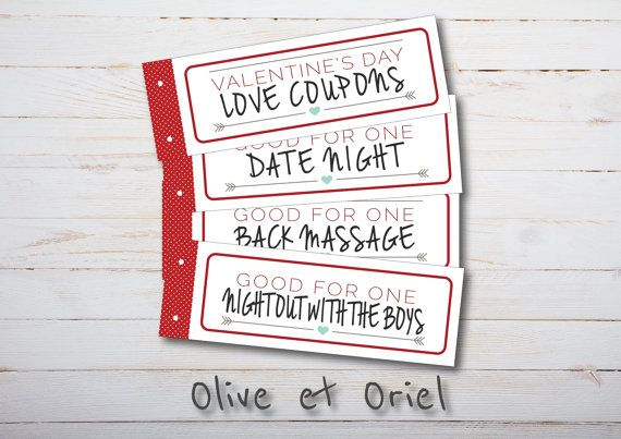Dirty valentines day coupons for boyfriend