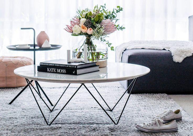 5 elementos para decorar la mesa de centro con mucho estilo - Noveno Ce