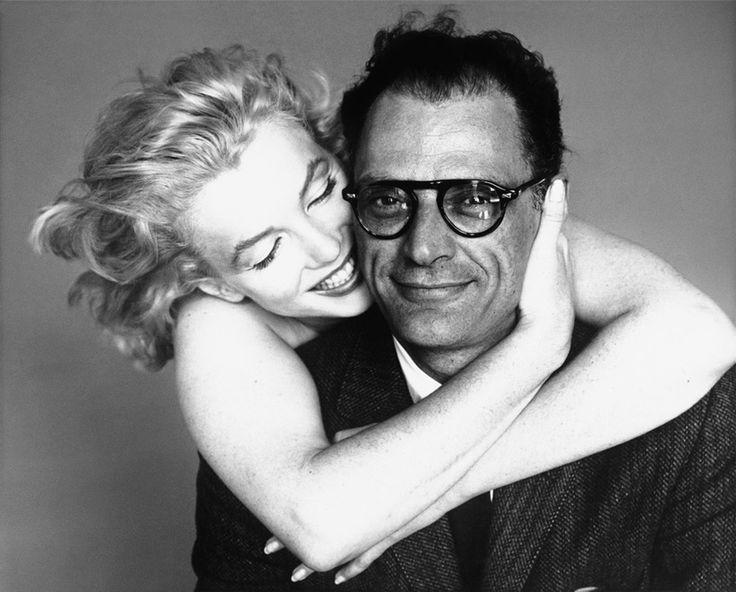 Marylin Monroe et Arthur Miller © Richard Avedon
