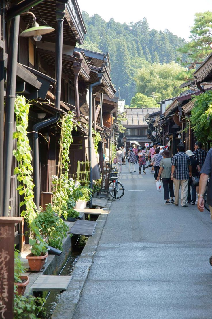 "Takayama Old Streets: The form of the castle town since the Edo Period and the merchant family street is preserved in Takayama-shi. It's called ""little Kyoto in Hida"" from th... Image credit photo_master #Japan #Takayama"