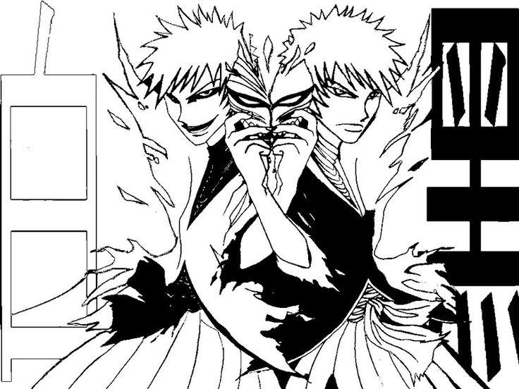7 besten Coloriages Mangas Bilder auf Pinterest | Malvorlagen, Anime ...
