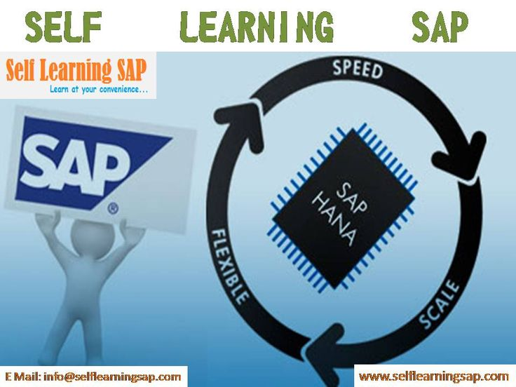 Self Learning SAP Center, is a leading solution provider for the self learning solutions for the SAP modules...We have designed the courses by well certified consultants with in detail explanation for each topic with real time scenarios and which makes you to learn your SAP course from your home without having any trouble. We have the training solutions for the modules like SAP SD, CRM,  MM,  ABAP,  FICO,  APO, WM, EWM, BO 4.1, HANA , ABAP Webdynpro & OOPs.