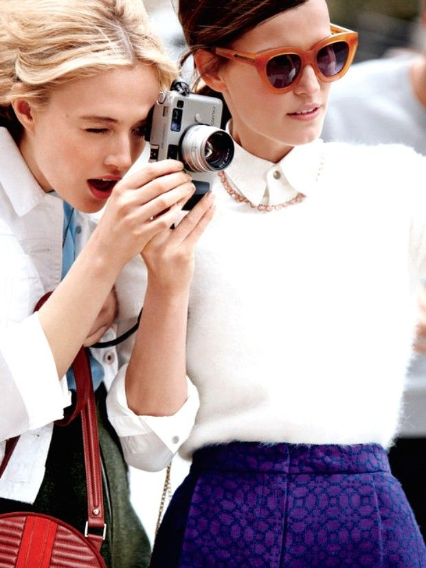 Or, how to stop worrying about de-tagging unflattering photos. via @WhoWhatWear