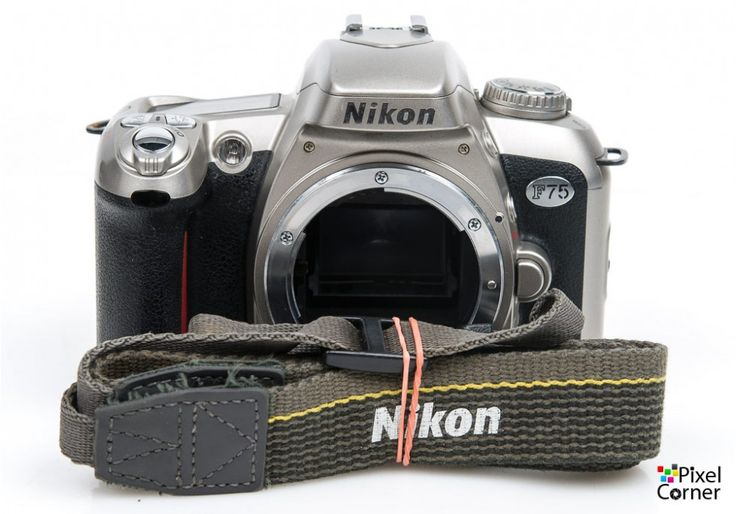 Nikon F75 camera body 35mm film SLR Silver  Ideal for beginner 2234794