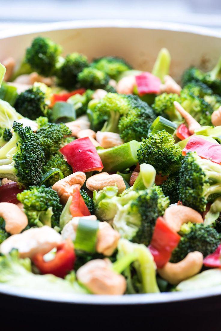 Kip met broccoli en cashewnoten-Voedzaam & Snel