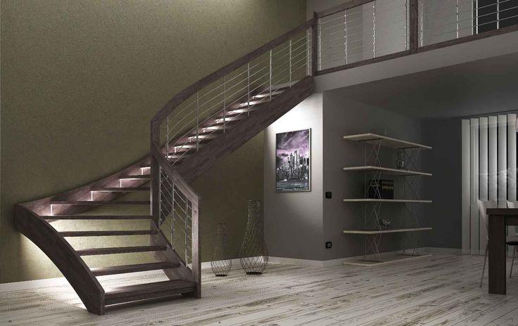 scale interne bianche legno - Cerca con Google