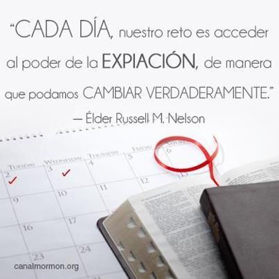 Puedes aplicar la expiación cada día de tu vida:  #Salvación