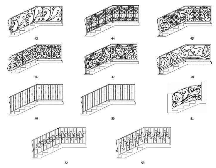 Кованые перила | Кованые перила для лестниц | Изготовление кованых перил | «МеталИнвест»
