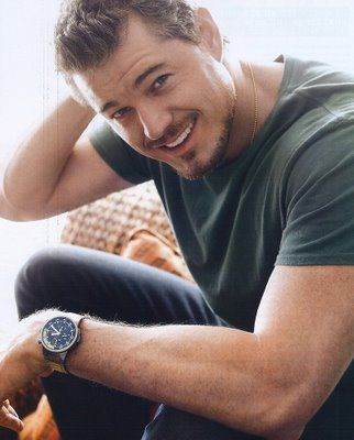 Eric Dane.  COR.  Only in season 3 of Grey's though.  I'm quite picky you know.