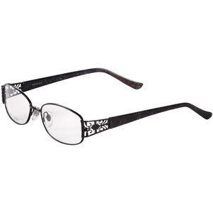 Contour Womens Prescription Glasses, FM12003 Shiny Black