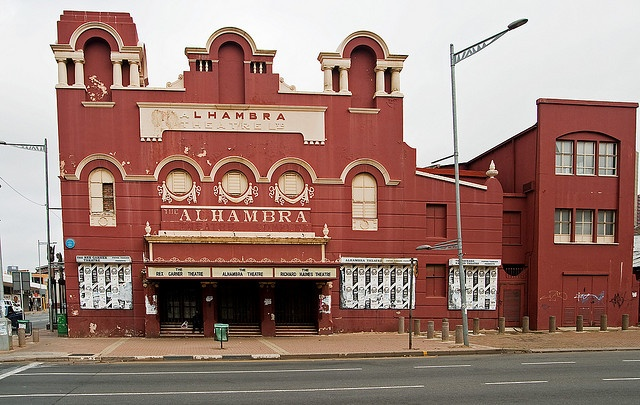 Alhambra Theatre, Doornfontein, Johannesburg. No longer used as a theatre since Pieter Toerien moved to Monte Casino - what a shame!