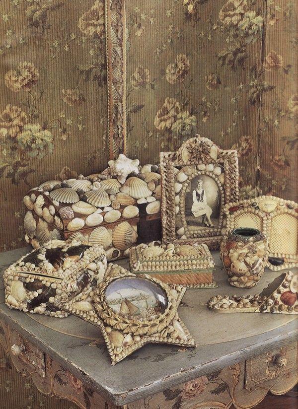 made of shellsShell Art, Sea Shells, Brabourne Farms, Vintage Shells, Collection, Seashells Art, Sirens Songs, Sell Seashells, Shells Boxes