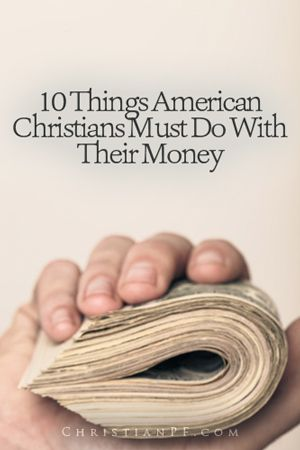Did you know that the #Bible gives specific instructions on what to do with our money - and this article we address some of those commands that are for all of us American Christians -