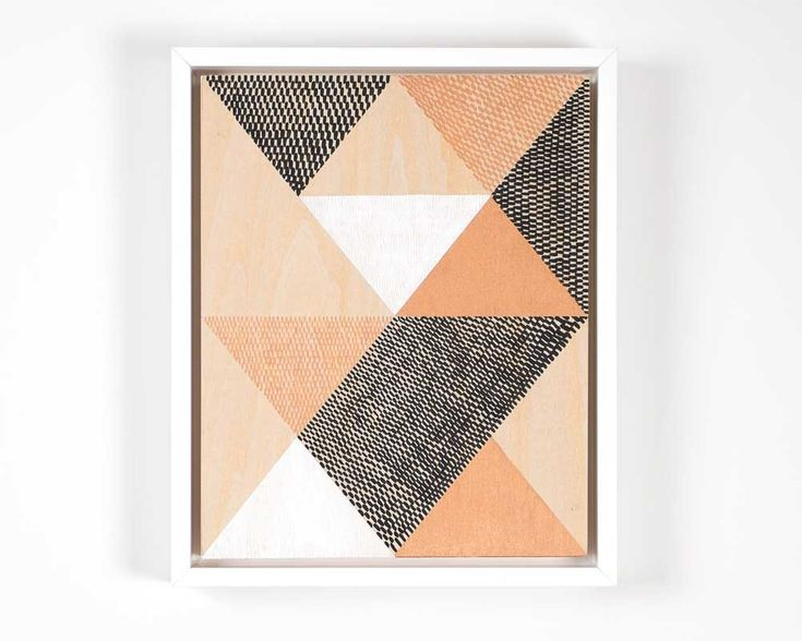"""Kels OSULLIVAN  Exhibited as part of 'life:form', 1-31 October 2015 acrylic on wood 8"""" x 10"""" Framed with white wood (no glass)  'The path to self discovery and following one's dreams.'  Part of the exhibition 'life:form' which references Angeles Arrien's shapes  studies, 'Signs of Life. The Five Universal Shapes and How to Use them'."""