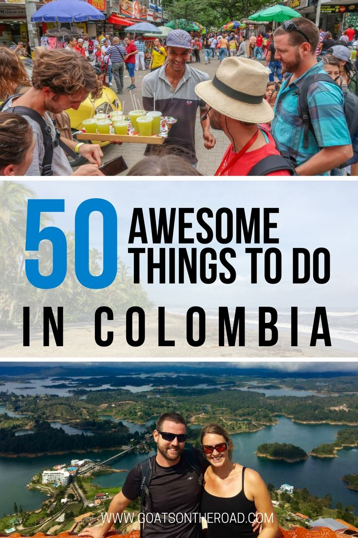 50 Awesome Things To Do in Colombia | Backpacking Colombia Tips | What To Do in Colombia | Where To Stay in Colombia | What To Do in Colombia | Adventures in Colombia | Travel Advice Colombia | Best of Colombia | Ultimate Guide