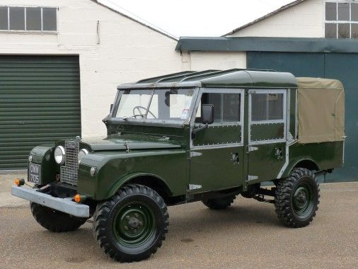 Almost certainly unique, this superb Land Rover series 1 Double Cab is based on a 1955 Series one 107 station wagon and was built by a retired Land Rover employee.