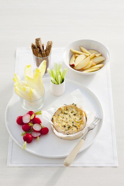 Camembert-Kaasfondue