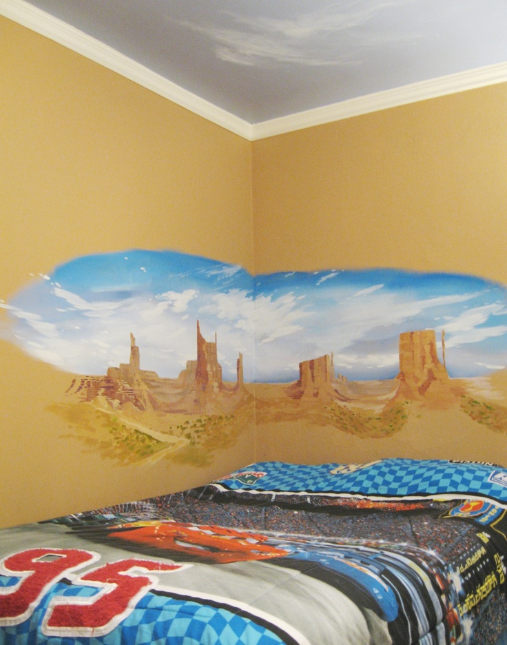 11 best Lightning McQueen wallboard mural for Logan images on ...
