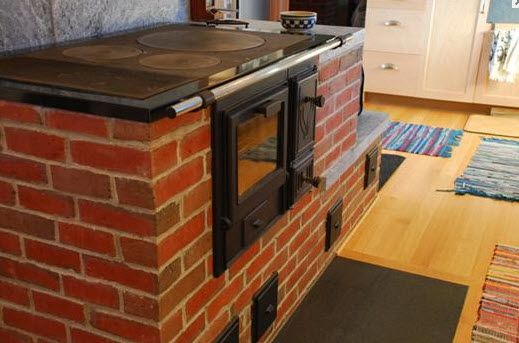 brick cook stove