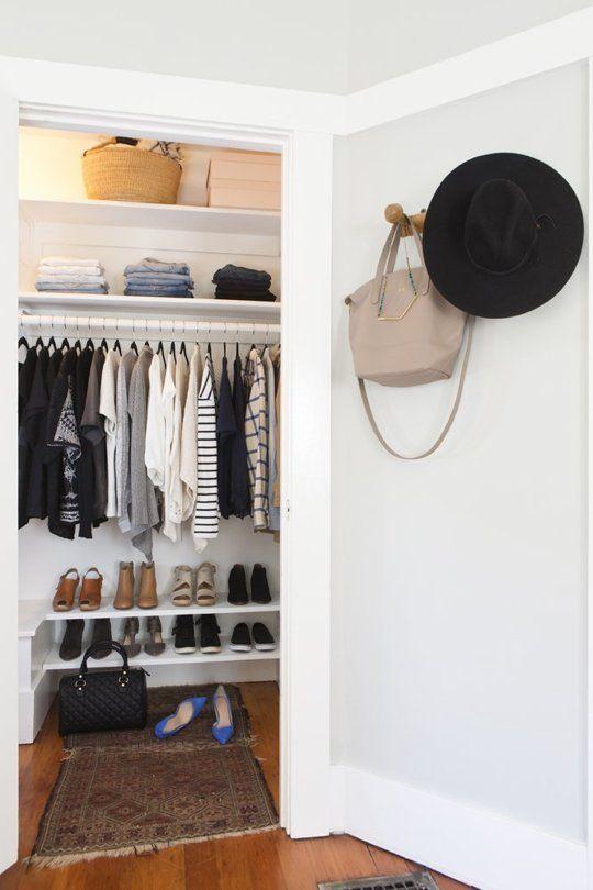 25 Great Ideas About Minimalist Closet On Pinterest