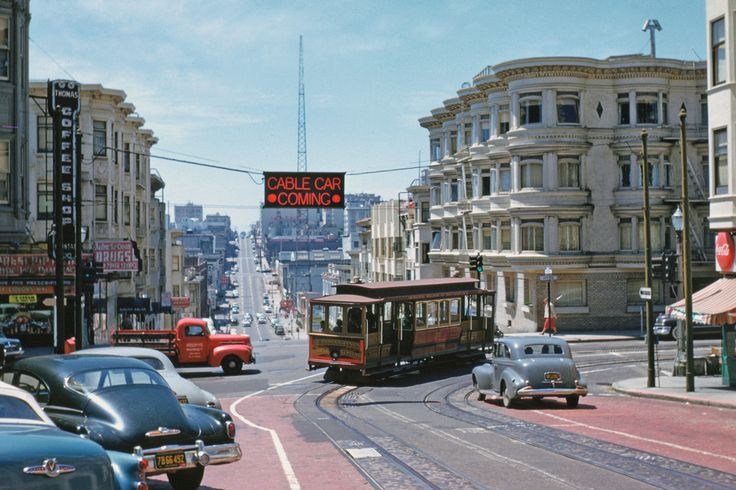 17 Best Images About San Francisco 1950s On Pinterest