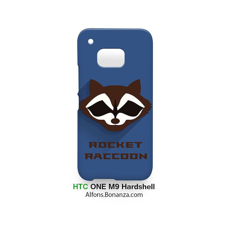 Rocket Raccon Superhero HTC One M9 Hardshell