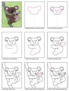 Draw a Koala Bear                                                                                                                                                      More