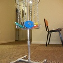 Portable Mini Disc Golf Basket