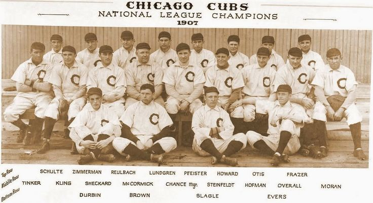 Chicago Cubs 1908 World Series #jimmBobChicago