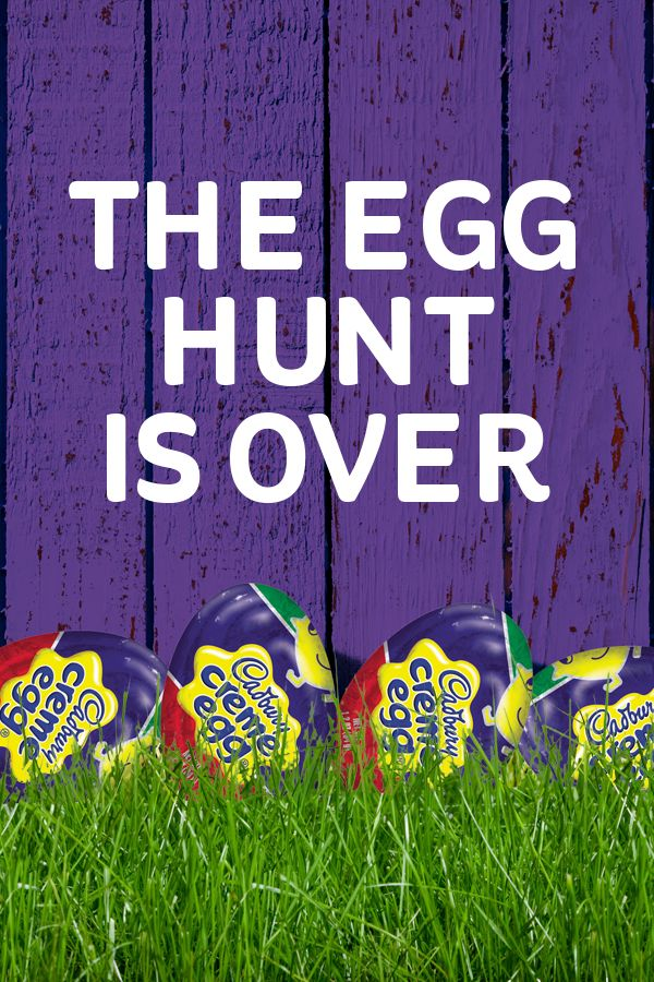 Easter is just around the corner – celebrate in the most egg-celent way possible. Cadbury Cream Eggs bring back the sweet tradition you grew up loving. Click for more.