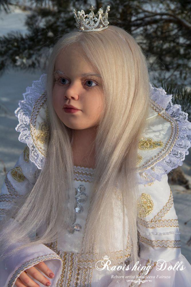 Amazing enchantress reborn toddler Candoris Gabriella doll kit  by Reva Schick #RavishingDolls