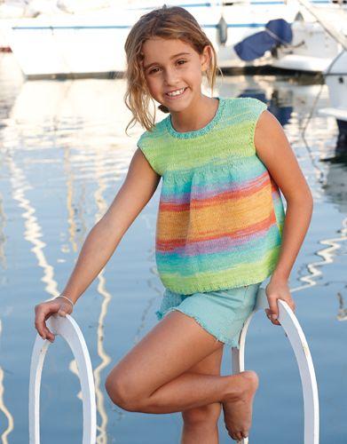 Revista Niños 73 Primavera / Verano | 34: Niños Top | Naranja-Verde-Azul
