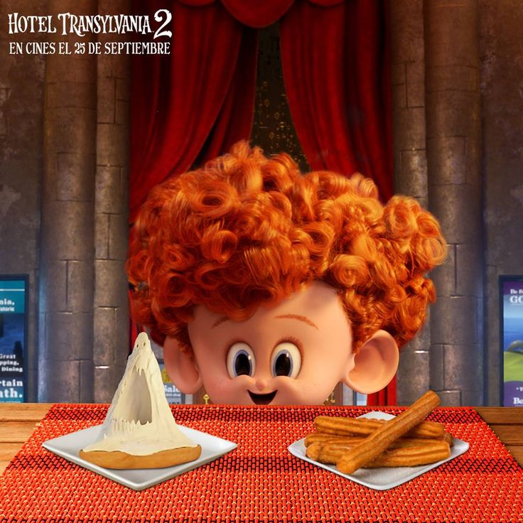 Scream cheese and churros. The best of both worlds according to Dennis! #HotelT2 #Dennis
