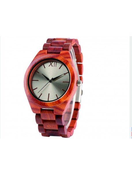 Hölzerne Armbanduhr- Die Rote Zwölf-Yisuya Artikel-Nr.:  DH00015-Red  Zustand:  Neuer Artikel  Verfügbarkeit:  Auf Lager  Elegante hölzerne Uhr mit einem einzigartigen Design. Geschenk fit für einen Mann und eine Frau. Uhren sind aus natürlichen Materialien, ohne künstliche Farbstoffe