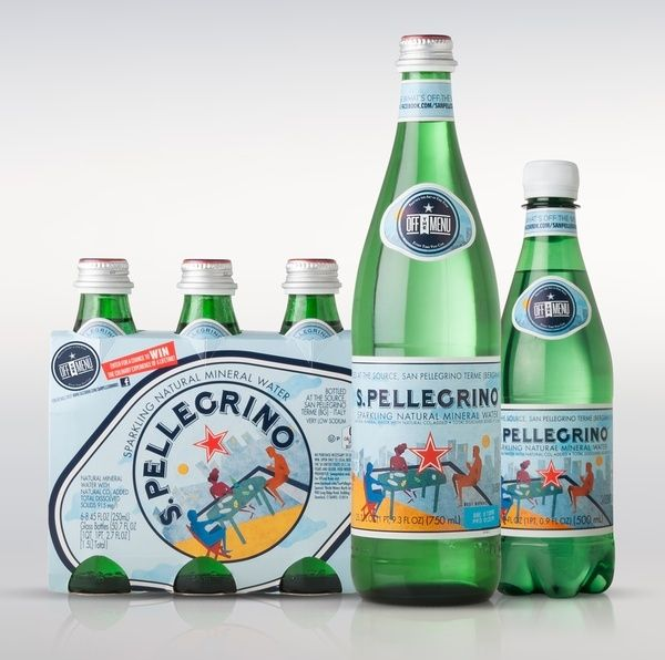 SanPellegrino by VENTIZERONOVE, via Behance