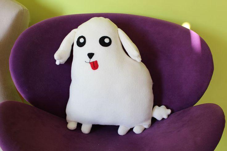 Cojín poodle | Hecho a mano| Softie Life | Retrato de mascota personalizable