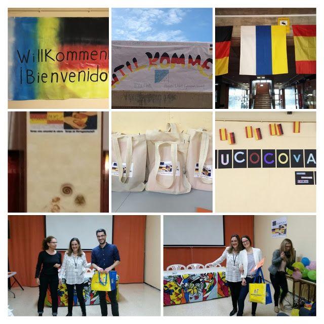 Erasmus+  IES La Minilla  EUCOCOVA: Europa como comunidad de valores: SALUDO DE BIENVENIDA Y VISITA GUIADA POR EL INSTIT...
