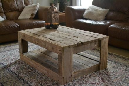Rustic pallet Coffee Table