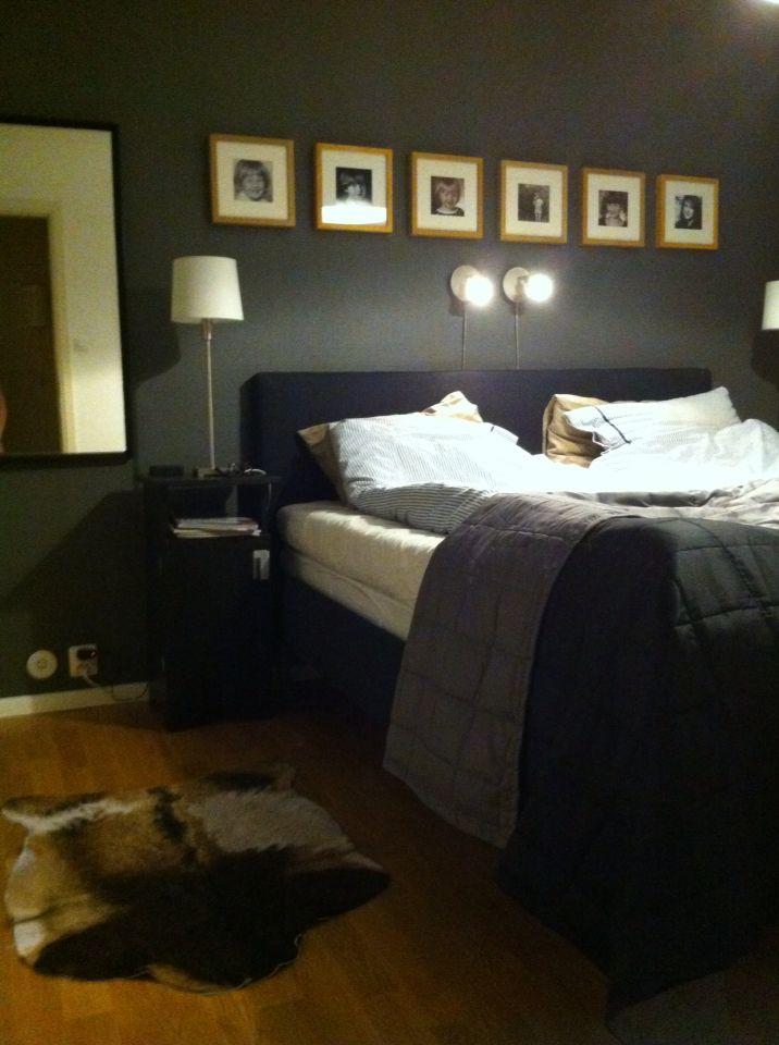 Sytt ny sänggavel och målat om.