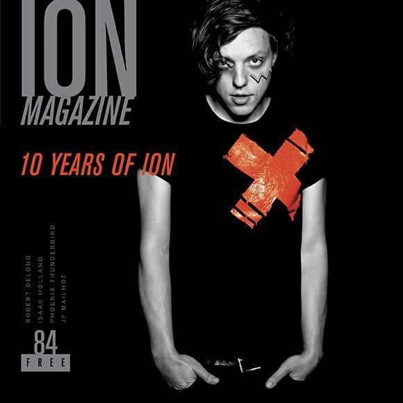 ION ISSUE 84 — ROBERT DELONG / 10 YEAR ANNIVERSARY ISSUE