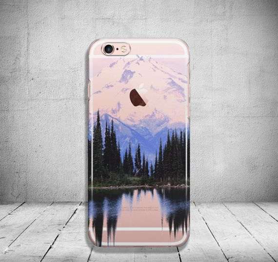 Mountain iPhone 6 Case Clear iPhone 6s Case Clear iPhone by PaiBai