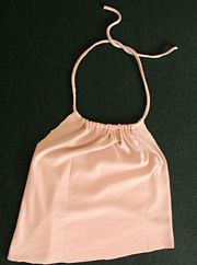 How to make a halter top from an old shirt w/ no sewing!