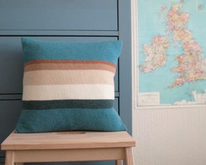 Image of CUSHION - SEA BLUE http://www.lucydonnell.co.uk/category/cushions